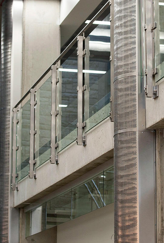 Stainless Steel Columns Architectural Forms Surfaces India