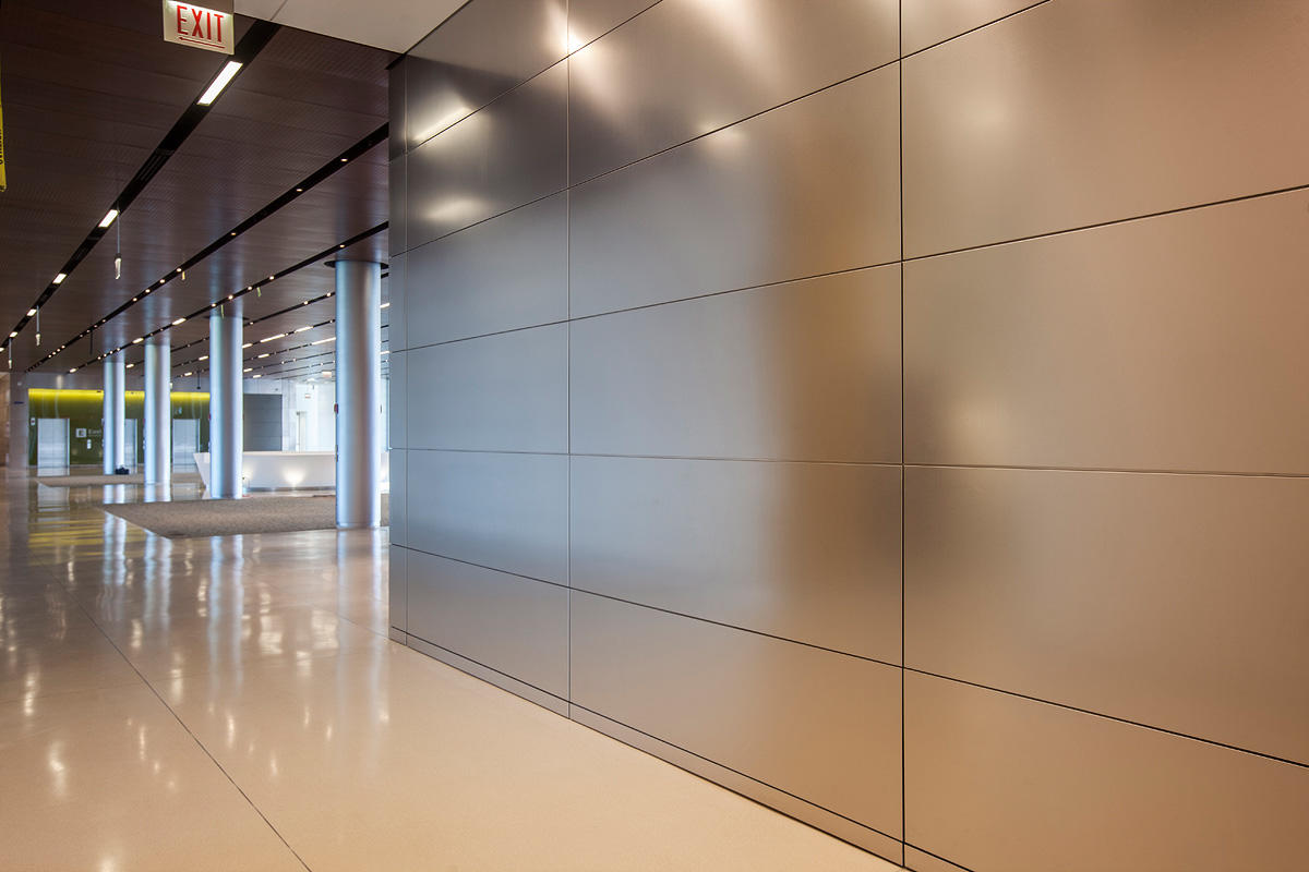 Levele wall cladding system architectural forms surfaces india for Architectural wall panels interior