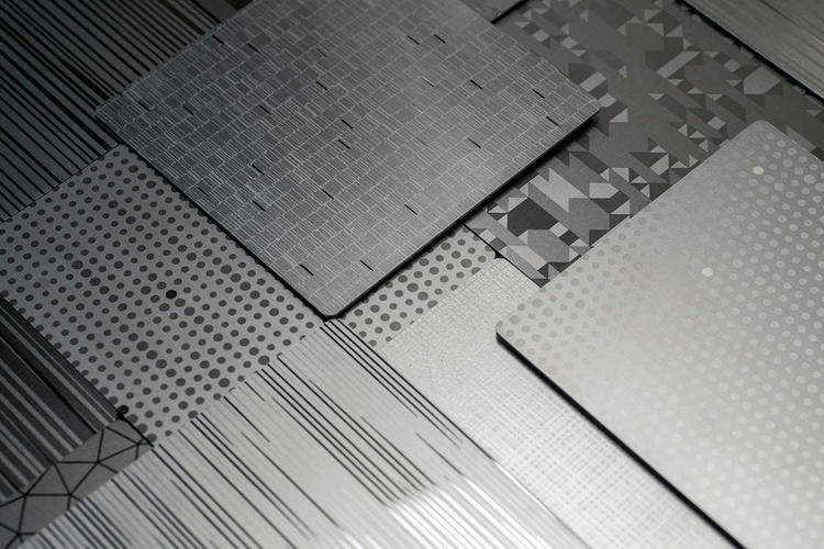 Stainless Steel Eco-Etch Patterns
