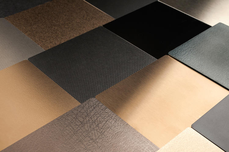 Fused Metal Colors & Finishes
