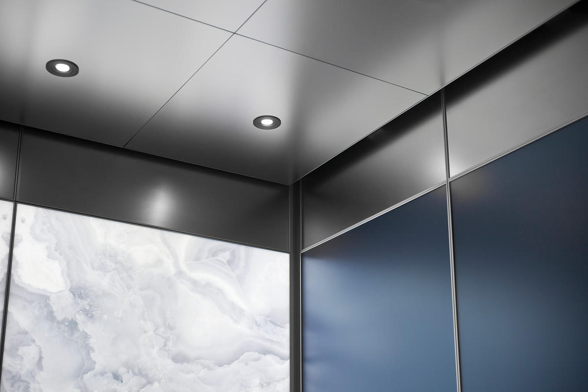 Stainless steel ceiling tiles