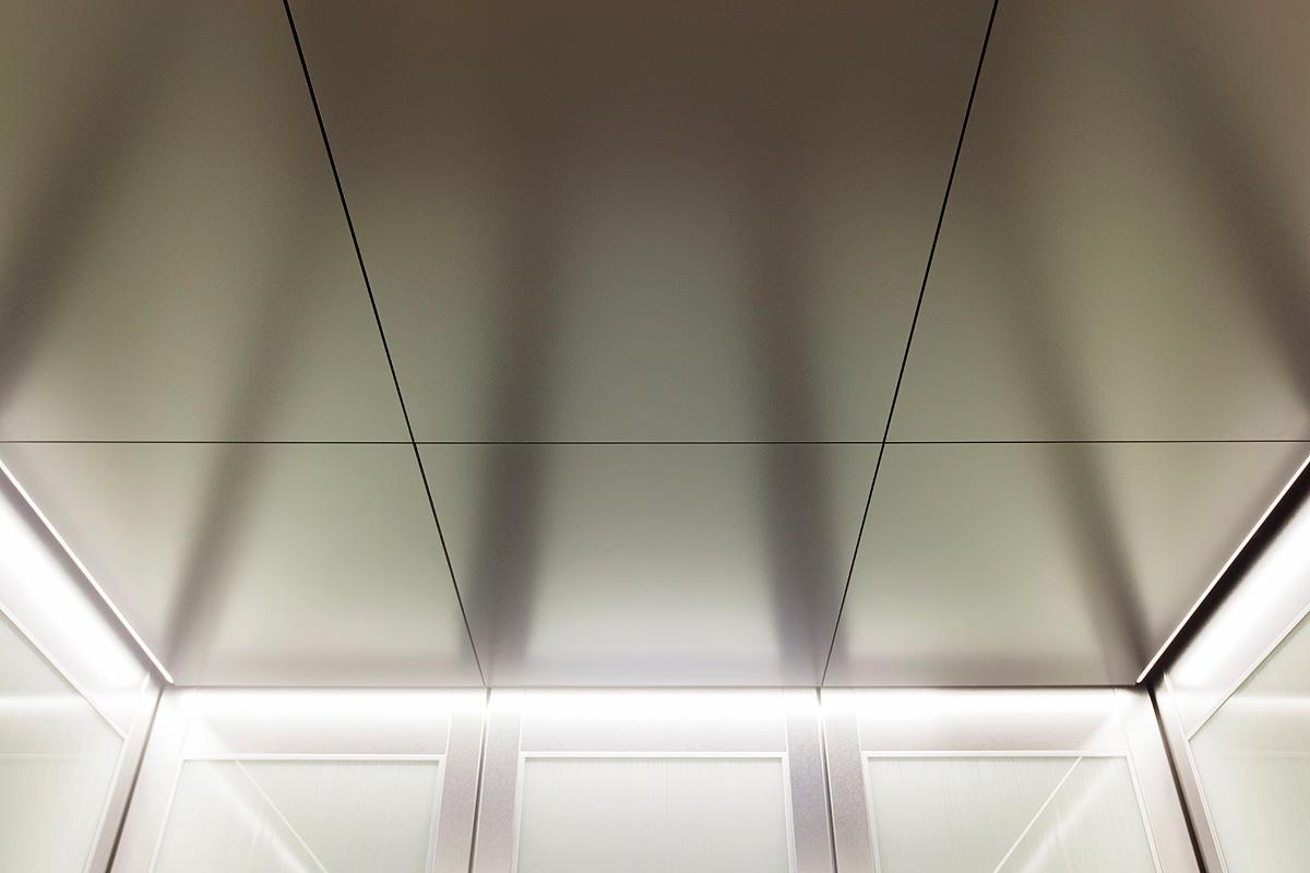 Steel ceiling tiles